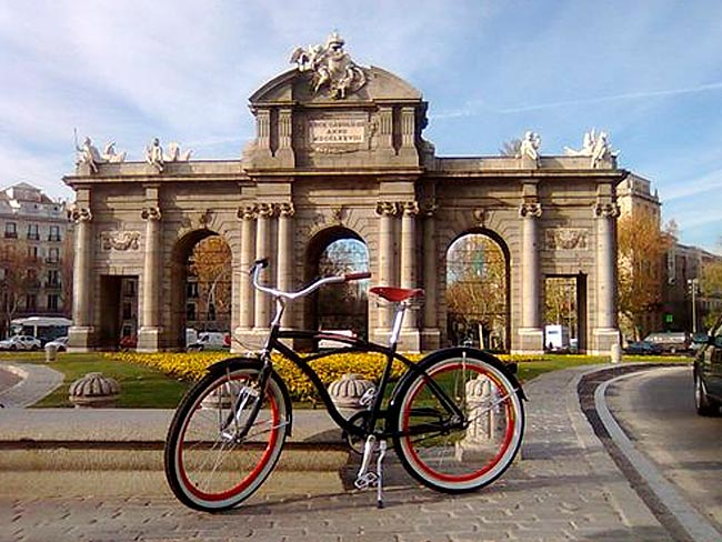 MADRID EN BICI